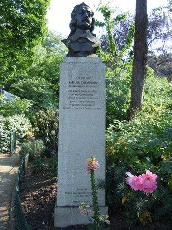 Buste de Samuel de Champlain