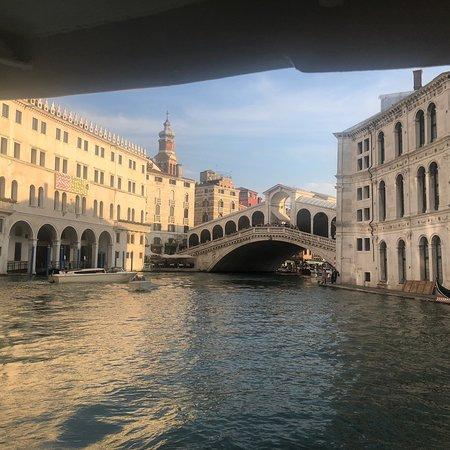 Ponte di Rialto: On the boat