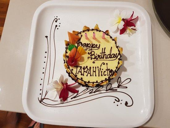 Koulen Hotel: Birthday surprises.