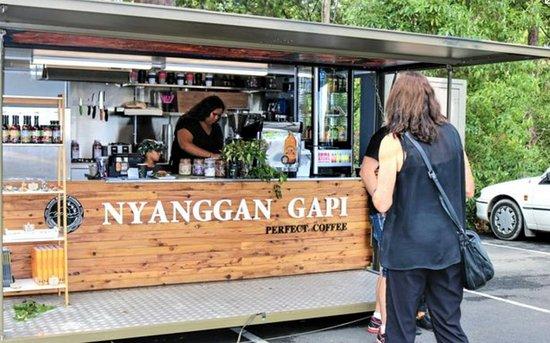 Forest Sky Pier: Nyanggan Gapi cafe at Sealy Lookout.