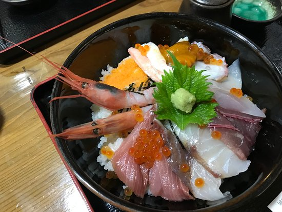 Okesho Fresh Fish Kaichuen: the one everyone orders, 2000 yen