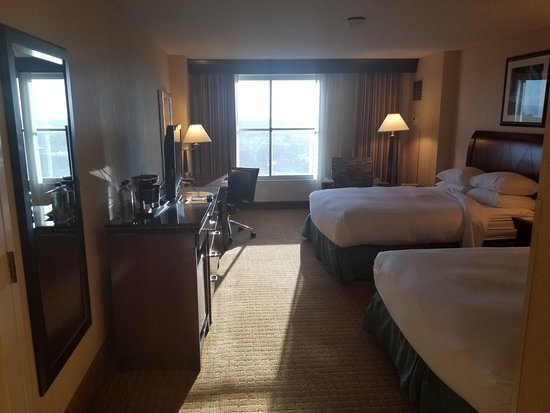 7th Floor Room Within The Double Tree Modesto Ca Picture Of