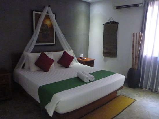 Mudra Angkor Boutique Hotel: Large, comfortable bed