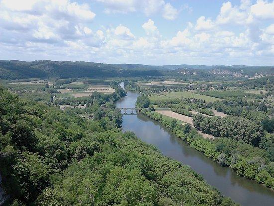 Le Belvedere: vue depuis le Belvédère (Domme)