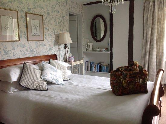 Stoke by Nayland, UK: Gardenia room
