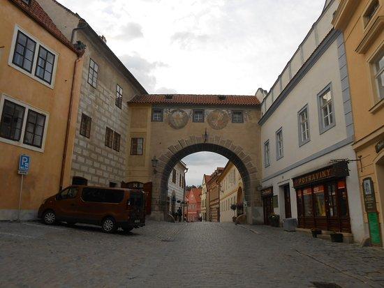 Historic Center of Cesky Krumlov: 街並み