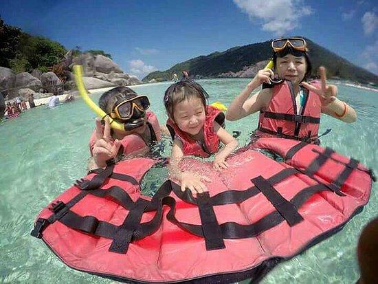 Mae Nam, Thái Lan: Prepare to snorkeling