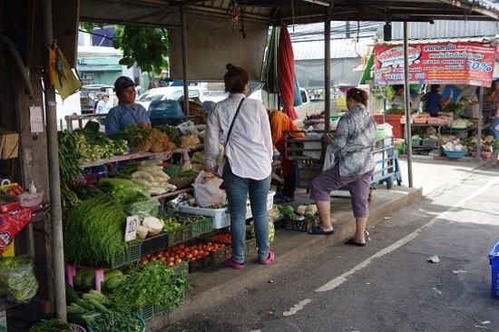 Samut Sakhon, Thái Lan: A greengrocer