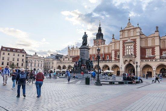 Πλατεία Κεντρικής Αγοράς (Rynek Glowny): Place du marché