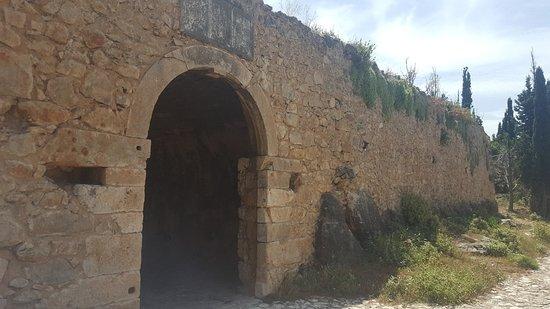 Assos, Greece: Burgruine