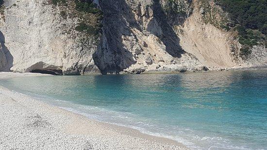 Παραλία Μύρτος: Tolle Badebucht