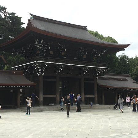 Ιερή πύλη Meiji Jingu Φωτογραφία