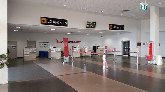 Qantas: salle à Devonport ( Tasmanie)