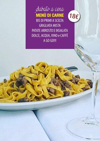San Marcello, Itália: Il nostro menù del Sabato