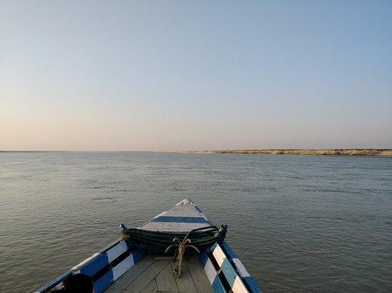 Marigaon, Inde : Bramhaputra cruise