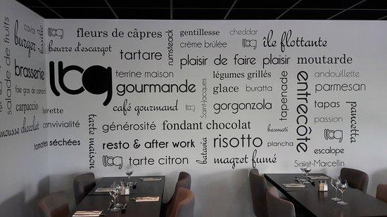 Decoration Picture Of La Brasserie Gourmande Epagny