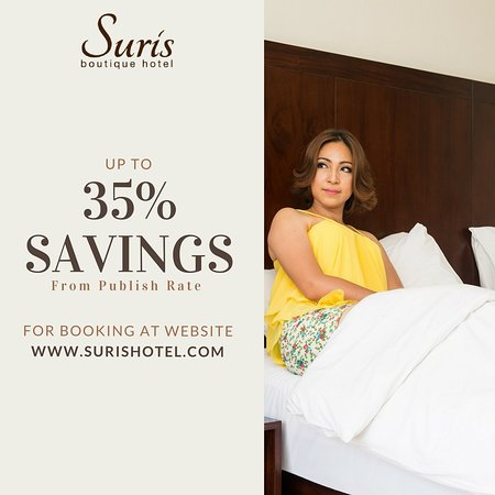 Suris Boutique Hotel: Get the Promo visit the webb