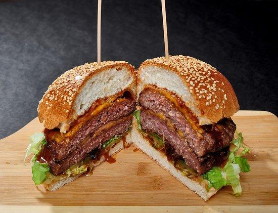 Joy of Food: Duble Joy Burger (Medium)