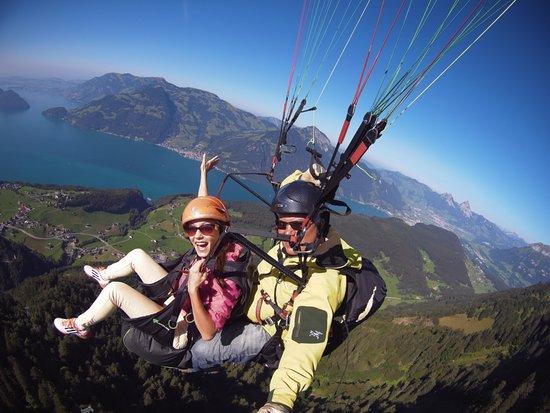 Breiten (Aeugstertal), Szwajcaria: Enjoy the swiss alps from above