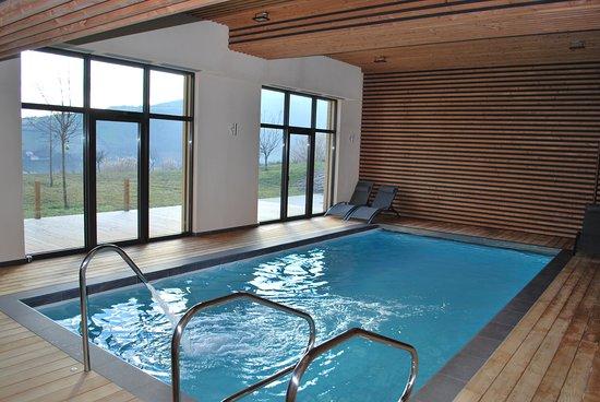 Cogny, France: Nouveau : Espace bien-être ! Piscine, bain à remous, hammam, sauna - juste pour vous !