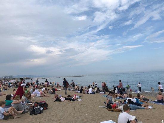 巴塞罗内塔海滩照片
