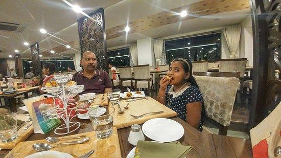 Sattvam: dining hall