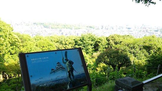 本妙寺, 清正像付近からの景観