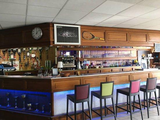 Club Squash-Badminton de l'hermitage: boutique/bar