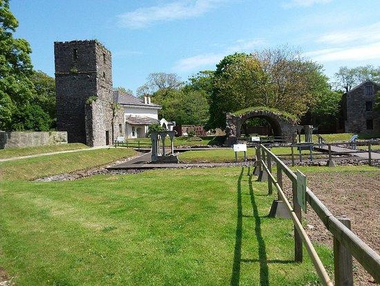 Ballasalla, UK: Rushen Abbey