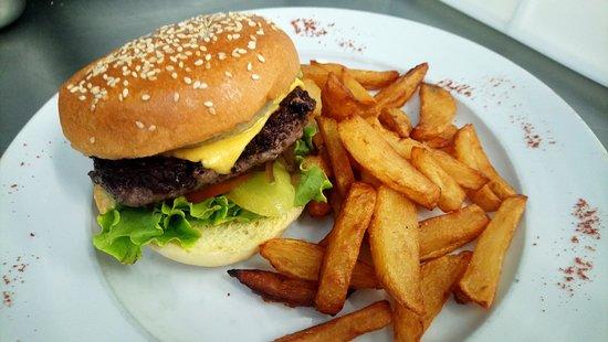 Le Caliente Palavas: burger