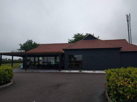 Beckington, UK: Starbucks