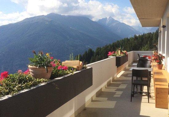 Les Collons, Switzerland: Terrasse