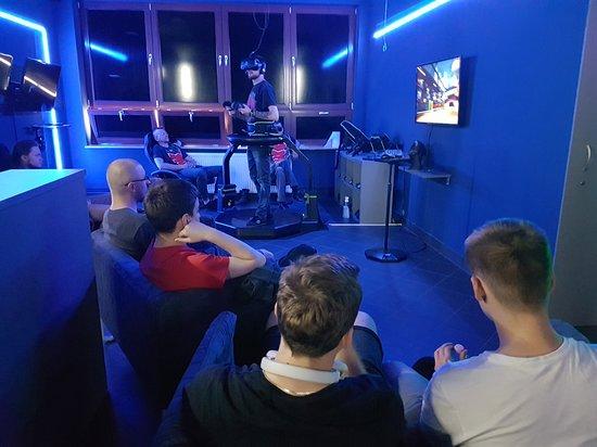 city VR: gra na bieżni VR
