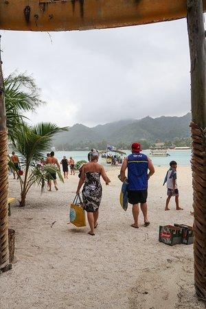 Muri, Cook Islands: going home