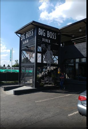Big Boss Diner: Outside view