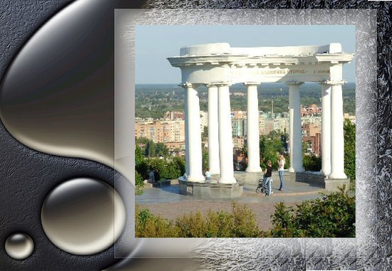 Individual and Group Excursions in Poltava and Poltava Region: Белая беседка Белая альтанка. Ротонда Полтава