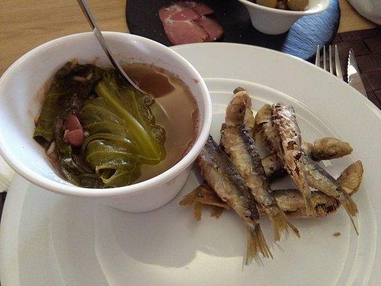 Paparico's Restaurante: sardinhas com arroz de feijao... divinal
