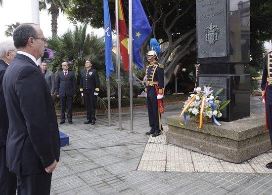 Monolito de la Constitucion Espanola