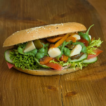 SpeiseWagen: Pita Vegetarisch