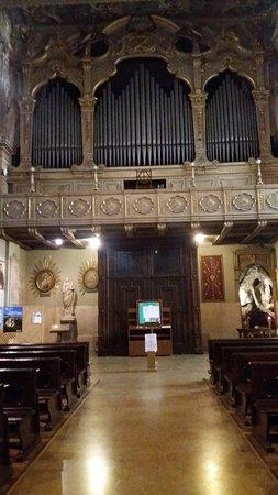 Chiesa della Madonna degli Angeli: Interno chiesa