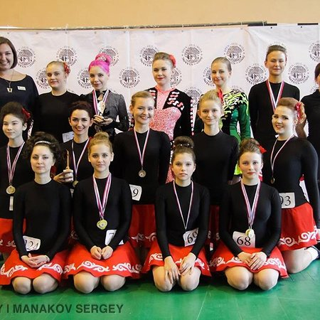 Школа ирландского танца Академия Ритма