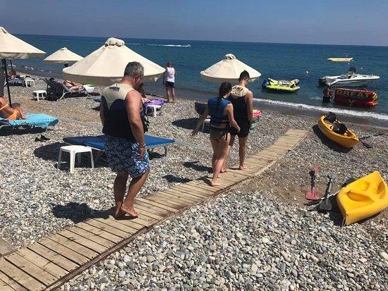 Xenios Water Sports Pissouri Bay: READY?