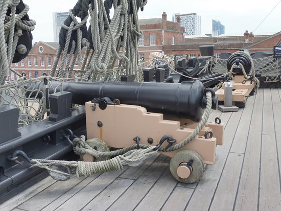 HMS Victory: The deck