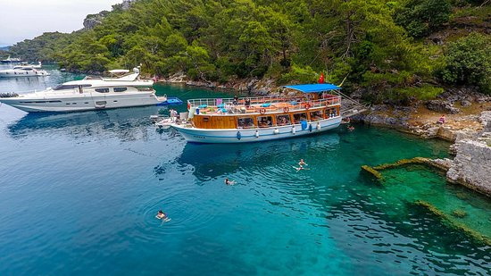 Gocek, Turquía: Göcek Tekne Turu Aviva 2