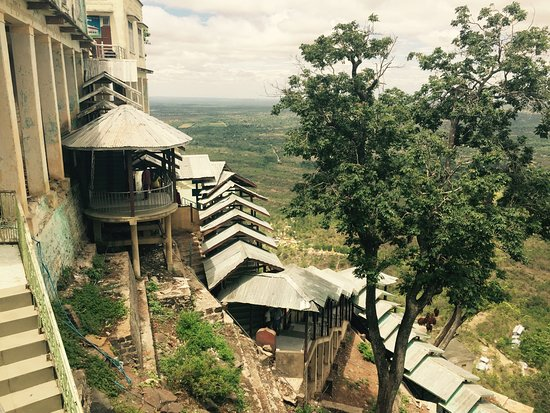 Top of Mount Popa