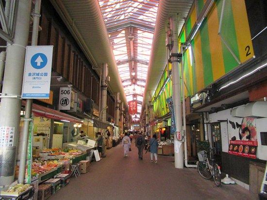 Omicho Market: Entrance