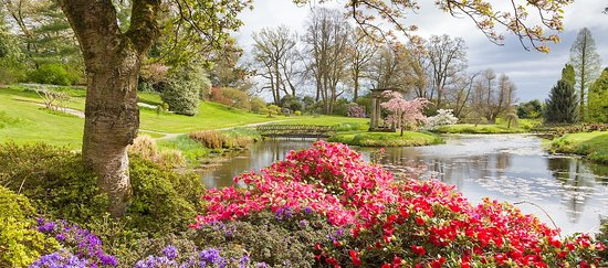 Cheshire, UK: Temple Garden