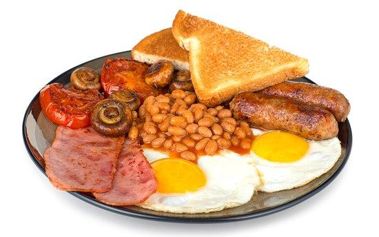 Restaurant Panorama: full english breakfast