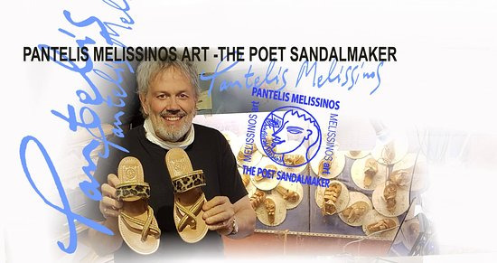 Melissinos Art -The Poet Sandal Maker