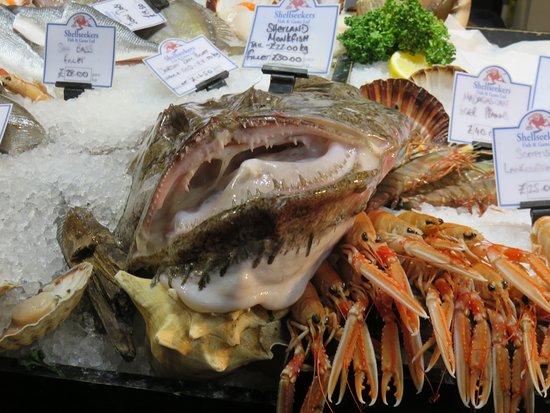 Borough Market: Monk fish